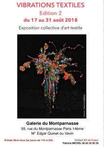 Affiche Vib. Textiles